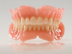Image of removable dentures